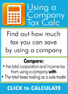 Using a company tax calculator