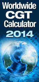 worldwide capital gains tax calculator 2014